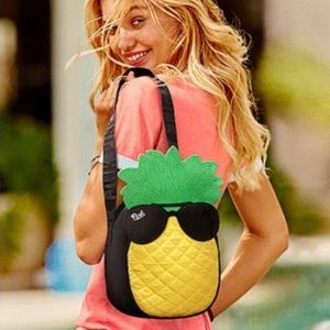 NWT VS Pink Pineapple Cooler Bag